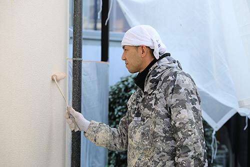 下塗り補修に徹底的にこだわるから、仕上りが断然違う!
