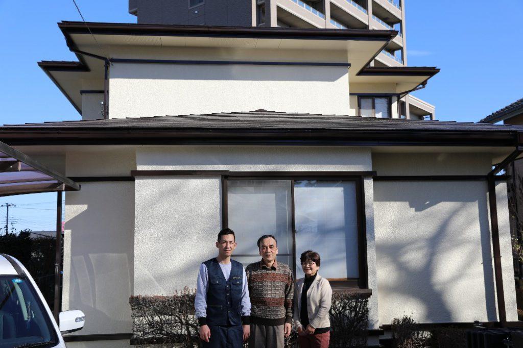 K様邸塗装工事:水戸市