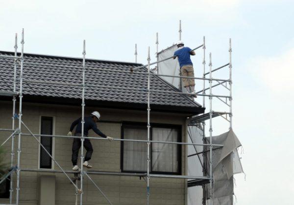 屋根塗装の工程